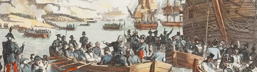1798 : Napoléon Bonaparte occupe Malte en raison de sa position stratégique