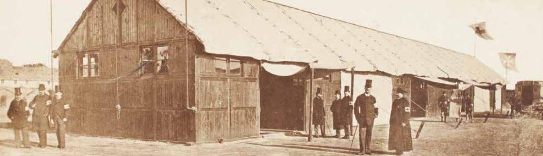 1878 : L'esprit d'assistance aux pauvres et aux malades Hôpital de campagne de l'Ordre souverain de Malte