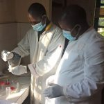 Centre de santé de la ville de Pita en Guinée